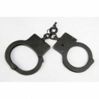 """Полицейские наручники  """"БР-С"""" оксидированные (вороненые)"""